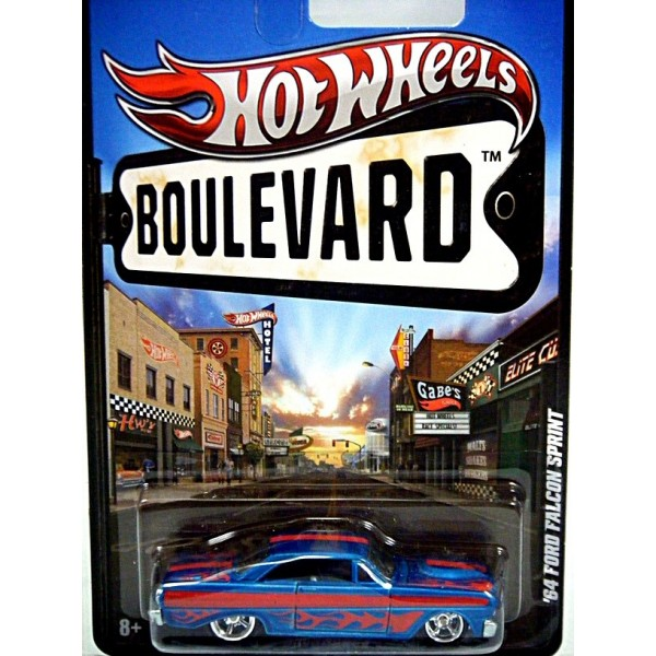 Hot Wheels Boulevard - 1964 Ford Falcon Sprint - Global ...