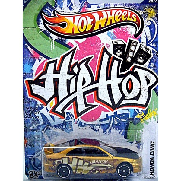 Hot Wheels Jukebox Series Hip Hop Honda Civic