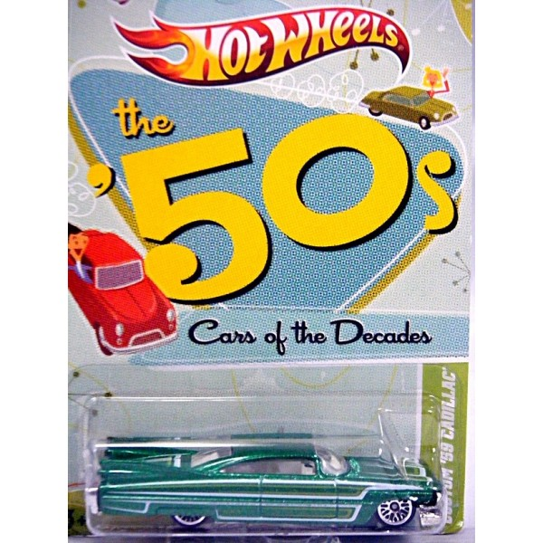 Hot Wheels Cars of the Decades - 1959 Cadillac Eldorado - Global Diecast Direct