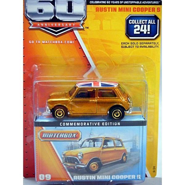 Matchbox Mini Cooper S Convertible: Matchbox 60th Anniversary Series