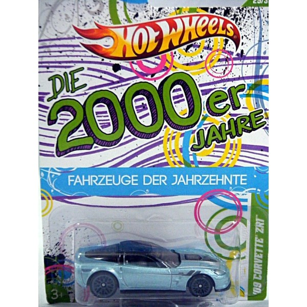 Hot Wheels Cars Of The Decades Rare German Card