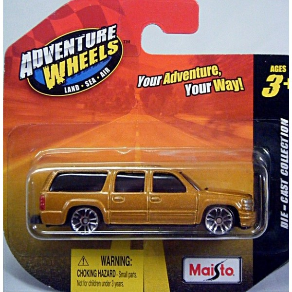 Maisto Adventure Wheels - Chevrolet Suburban SUV