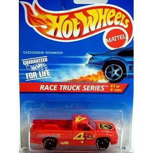Hot Wheels - Dodge RAM 1500 with Roof Number