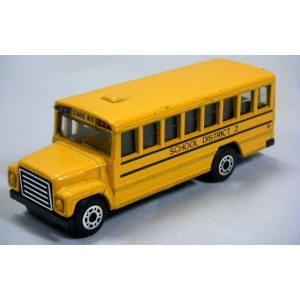 Matchbox - International School Bus - District 2