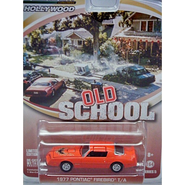 Greenlight Hollywood 1:64 Series 5 Old School 1977 Pontiac Firebird T//A Model