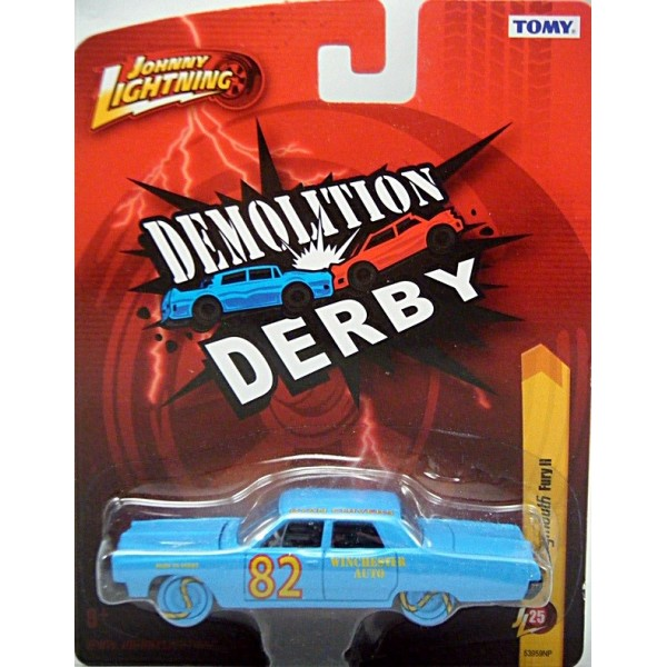 Johnny Lightning Forever 64 1967 Plymouth Fury Ii Derby Car