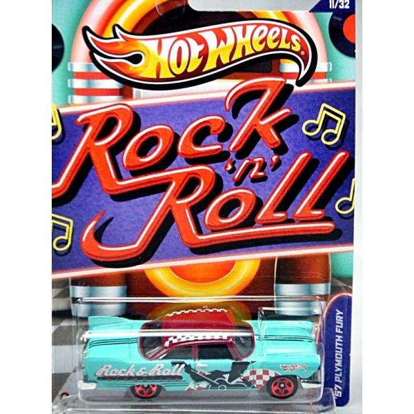 New Chevy Trucks >> Hot Wheels Jukebox - Rock & Roll 57 Plymouth Fury