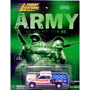 Johnny Lightning Promo - Dodge Ram ARMY Pickup Truck