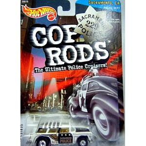 Hot Wheels Cop Rods Sacramento Police Department 1955 Chevrolet Nomad
