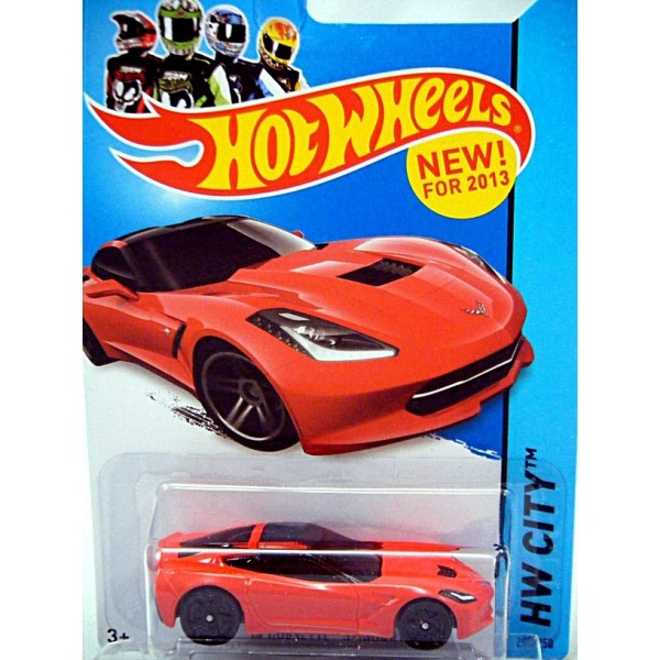 Hot Wheels 2014 Chevrolet Corvette Stingray C7 Coupe
