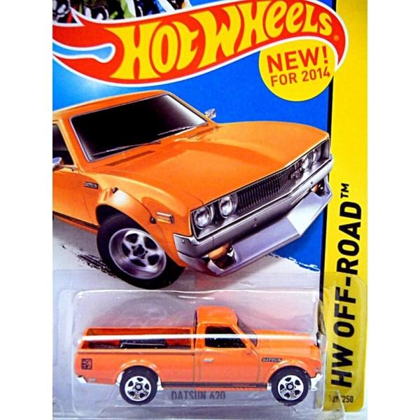 Hot Wheels 2014 New Models Series - Datsun 620 Pickup ...