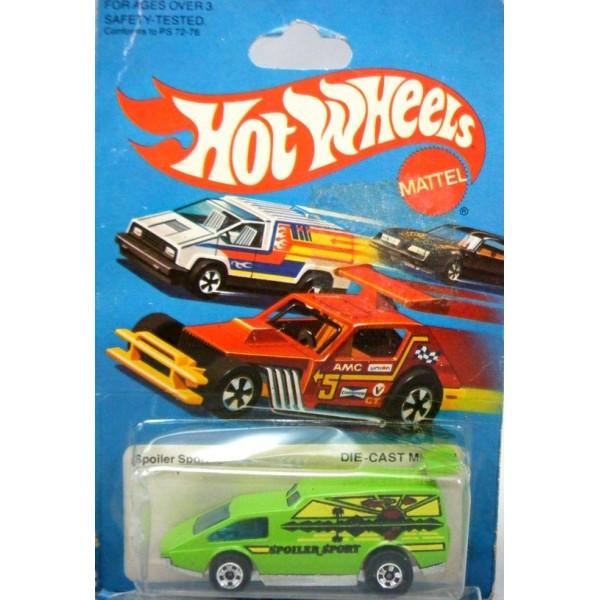 Hot Wheels Flying Colors Spoiler Sport Custom Van