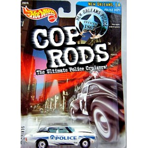 Hot Wheels Cop Rods - New Orleans Police 1970 Chevrolet Chevelle SS