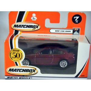 Matchbox BMW 328i Coupe