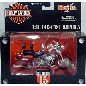 Maisto Harley Davidson Series 15 - 2001 FLHRSEI CVO Custom