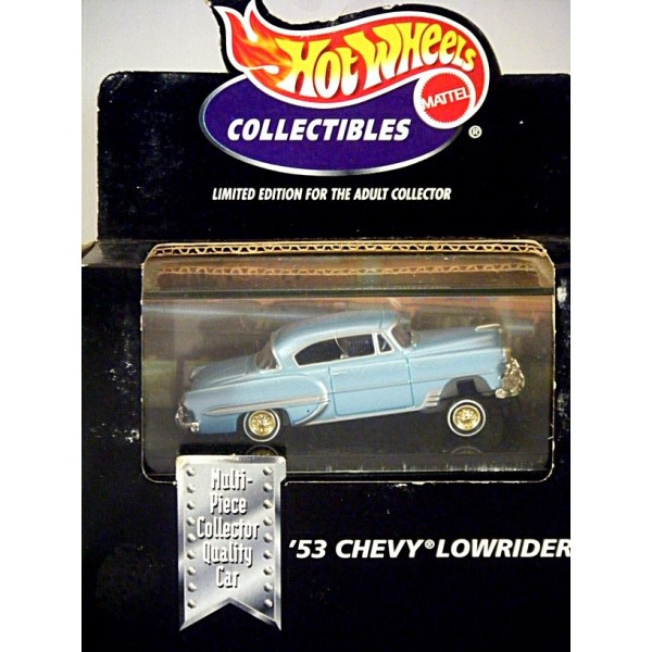 Hot Wheels 100 Collectibles 1953 Chevrolet Bel Air Lowrider