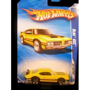 Hot Wheels Oldsmobile 442 Muscle Car