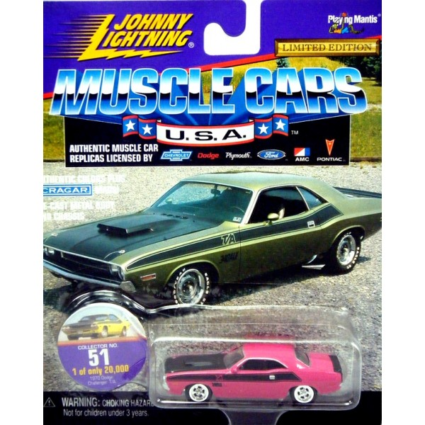 Johnny Lightning Muscle Cars Usa 1970 Dodge Challenger T A