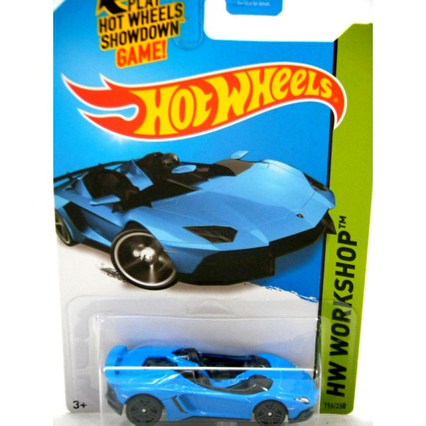 hot wheels - lamborghini aventador j - global diecast direct