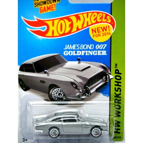 Aston Martin Db5 Hot Wheels: James Bond Goldfinger