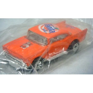Matchbox Rare Chinese market Fanta Soda Promo 1957 Chevy Bel Air