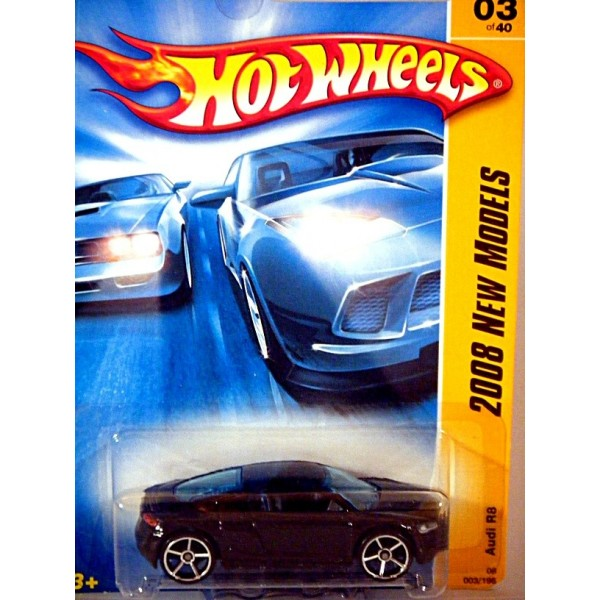Hot Wheels First Editions Audi R Sports Car on 2008 Chevy Monte Carlo