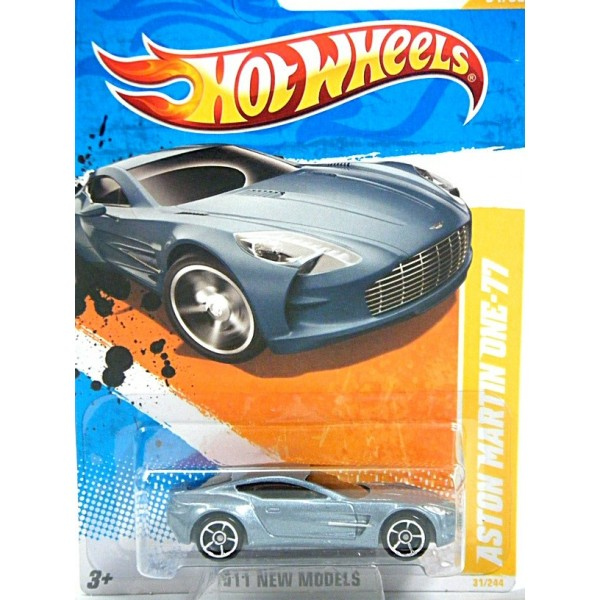 Hot Wheels New Models Series   Aston Martin One 77