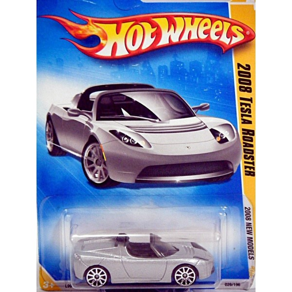 Hot Wheels 2008 First Editions Series Tesla Sports Car Global
