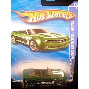 Hot Wheels: Chevrolet Camaro Convertible Concept
