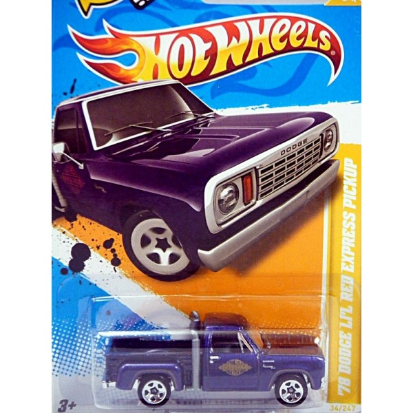 Dodge Pickup Trucks >> Hot Wheels 2012 New Models series - 1978 Dodge Lil Red Express Pickup Truck - Global Diecast Direct