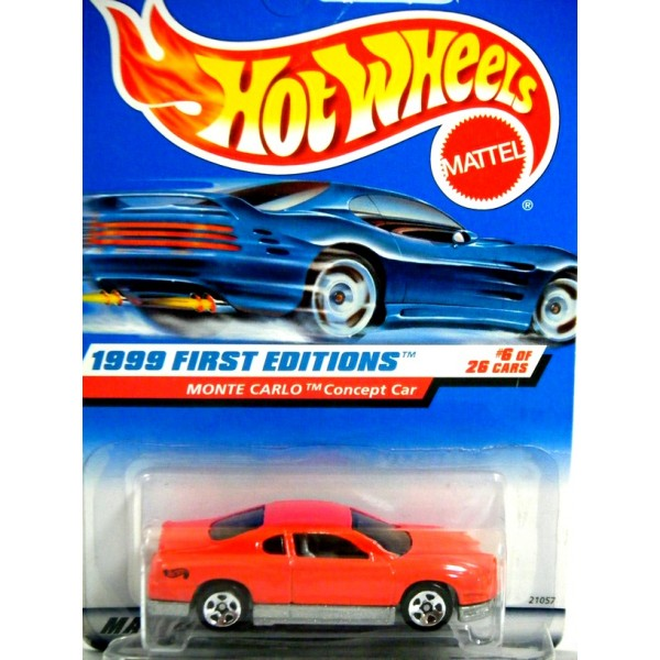 Hot Wheels 1999 First Editions - Chevrolet Monte Carlo ...