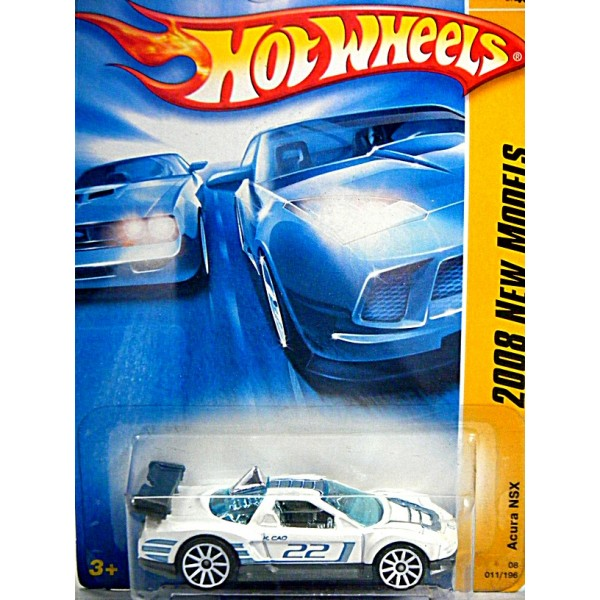 Hot Wheels 2008 First Edition Series Acura Nsx Sports Car