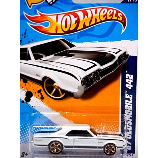 Chevrolet Impala 1967 >> Hot Wheels - 1967 Oldsmobile 442 Muscle Car - Global Diecast Direct
