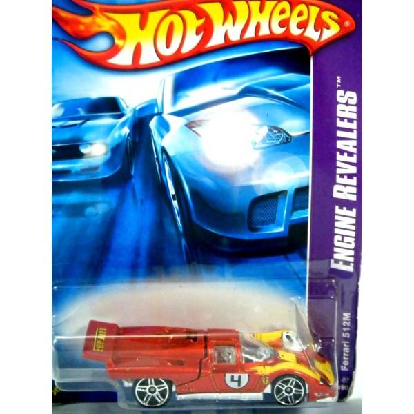 Hot Wheels Ferrari 512m Global Diecast Direct