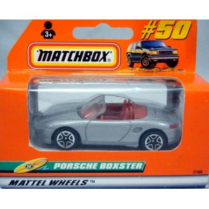 Matchbox Porsche Boxster (Brown Interior/Newer Wheels)