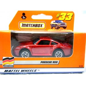 Matchbox Porsche 959 Euro Edition
