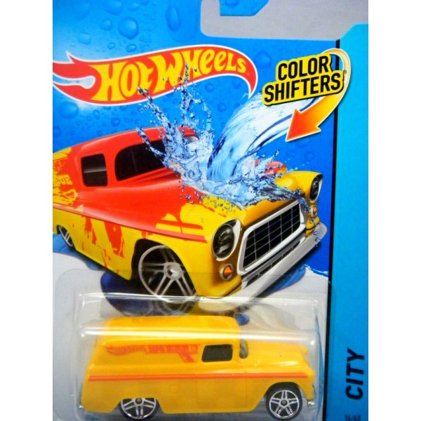 hot wheels color shifters 55 chevy panel van global. Black Bedroom Furniture Sets. Home Design Ideas