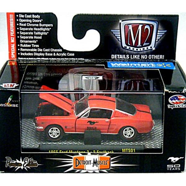 616531a7f76d6 M2 Machines Detroit Muscle - 1965 Ford Mustang 2+2 Fastback - Global ...