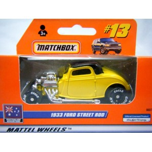 Matchbox Australia Only Release 33 Ford Coupe Hot Rod
