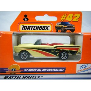 Matchbox 1957 Chevrolet Bel Air Convertible