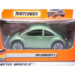 Matchbox Volkswagen Beetle - Euro Edition
