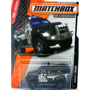 Matchbox - Guard Service Airport SWAT Truck