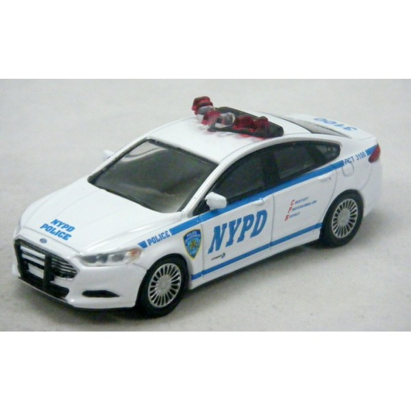 Greenlight - Ford Fusion NYPD Police Car - Global Diecast ...