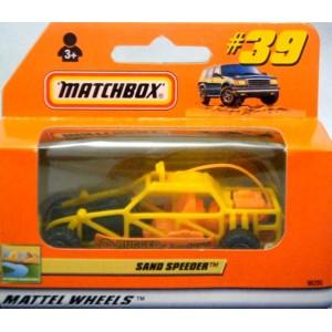 Matchbox Sand Speeder Dune Buggy - Euro Only