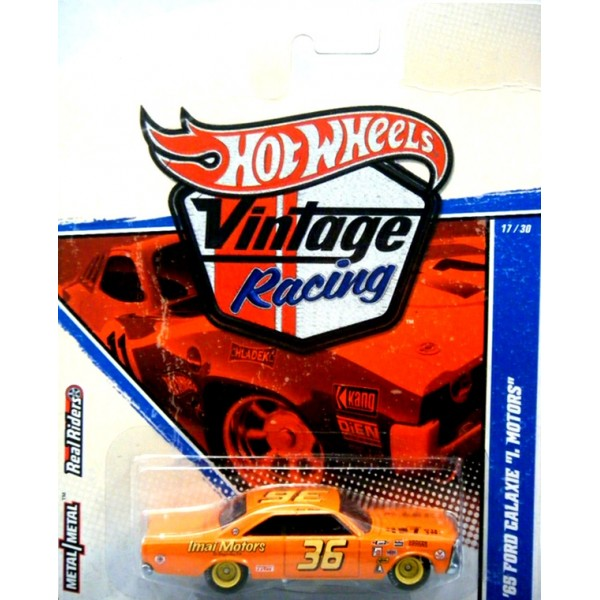 Bel Air Car >> Hot Wheels Vintage Racing - 1965 Ford Galaxie NASCAR Stock ...