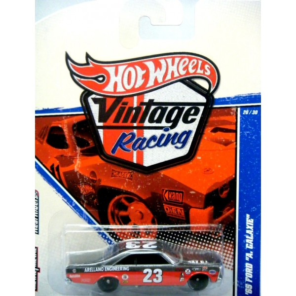 Hot Wheels Vintage Racing 1965 Ford Galaxie 500 Nascar