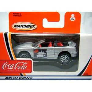Matchbox - Ford Mustang Convertible Coca-Cola