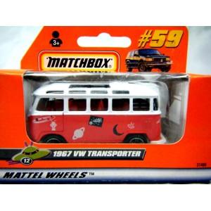 Matchbox 1967 Volkswagen Transporter - Euro Edition