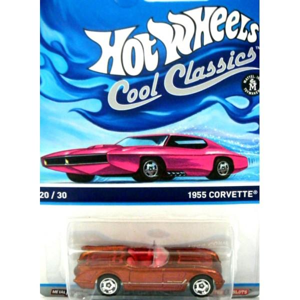 Hot Wheels Cool Classics: 1955 Chevrolet Corvette - Global ...