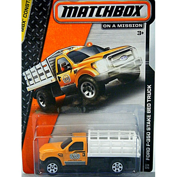 Matchbox Ford F 350 Stake Bed Truck Global Diecast Direct